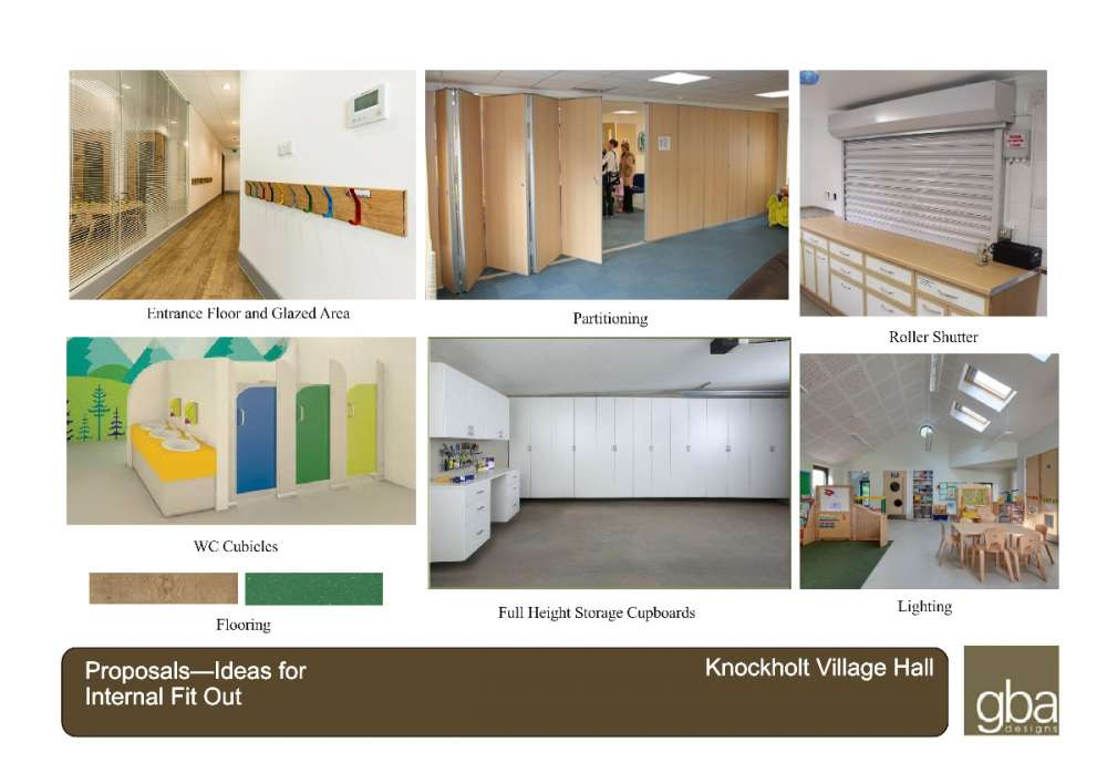 Artists impression of fit-out to Rainbow pre-school